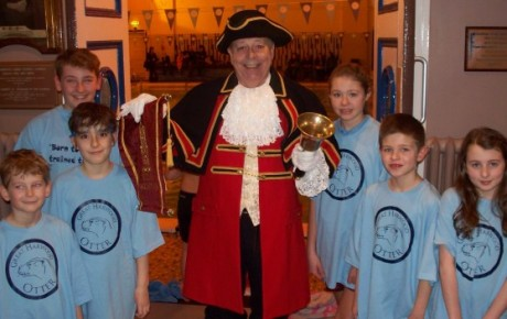 Great Harwood town crier