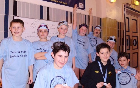 TOP MARKS FOR OTTER CLUB SWIMMERS, AT ENGLISH SCHOOLS SWIMMING CHAMPIONSHIP.